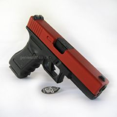 BREAKERS YARD Army R17 (G17) V3 Gas Blowback Red Airsoft Pistol